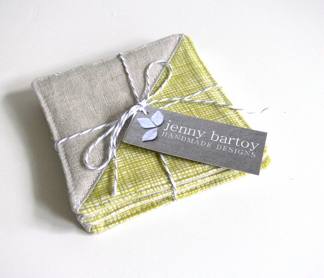 Jenny Bartoy: Coasters, Set of 4