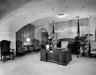 Broadcast Room on Ground Floor of White House, 03/1952