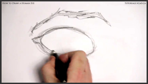 learn how to draw a human eye 003