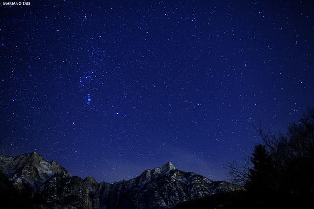 Orione sul Pizzo di Levico