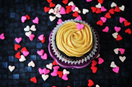 Salted Caramel Mocha Cupcake