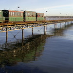 Reflections of a Pier Train