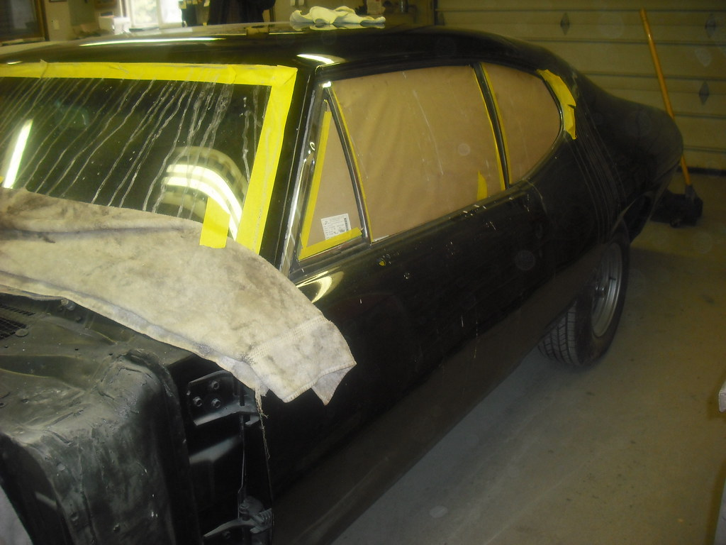 Update on my latest project - 68 GTO 8458889845_723c328320_b