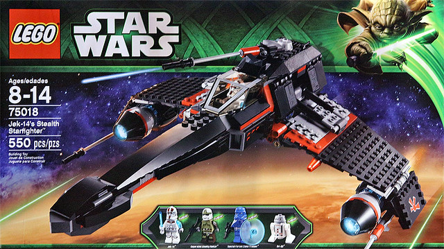 LEGO Star Wars 75018 - Jek-14s Stealth Starfighter