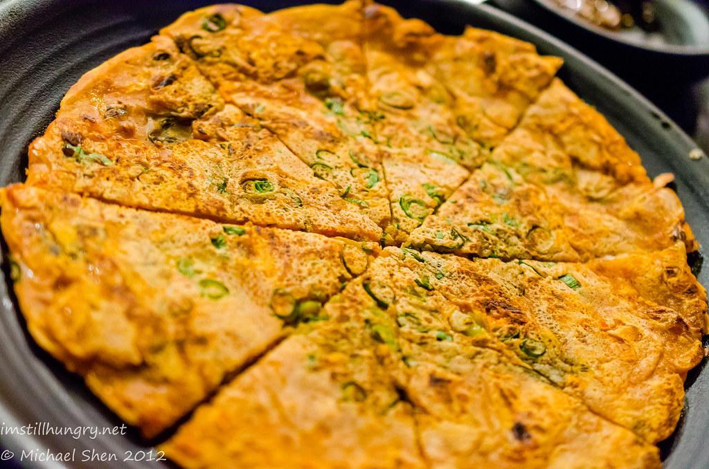 Sydney Madang Haemul Pajun - Seafood & Shallot Korean Pancake