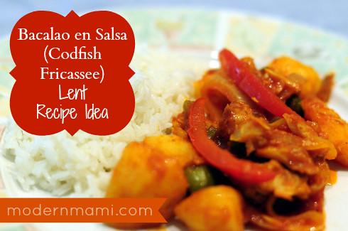 Bacalao en Salsa (Codfish Fricassee) Recipe