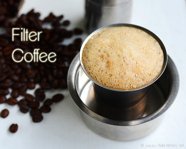 Home Water Filter >> South Indian filter coffee | How to make degree coffee | Raks Kitchen | Indian Vegetarian recipes