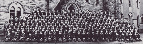 c1958. The pupils of St Louis Secondary School Monaghan