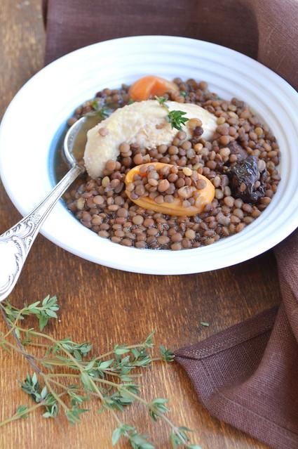 Суп из чечевицы армянский
