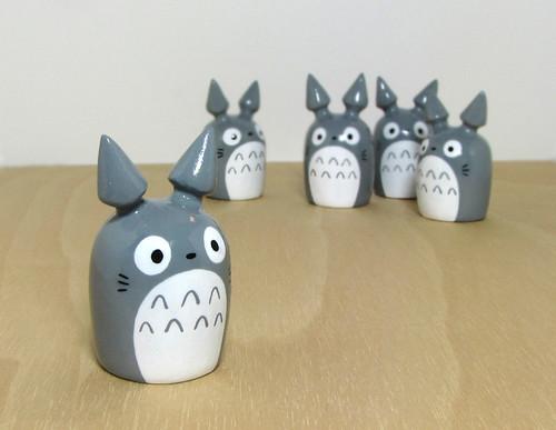 Totoro Figurines
