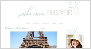 Mention about Carin Olsson (Paris in Four Months) on Savor Home