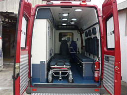 Custom ambulance application