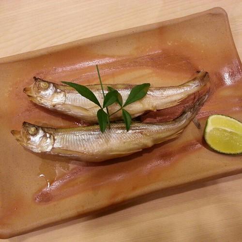 柳葉魚なう。  #nightlife