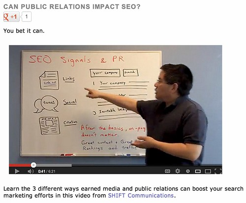 Can public relations impact SEO?