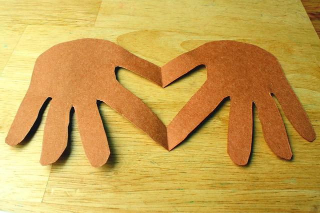 valentine by hand