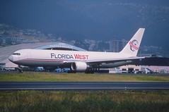 166al - Florida West Airlines Boeing 767-300F; N316LA@UIO;26.02.2002