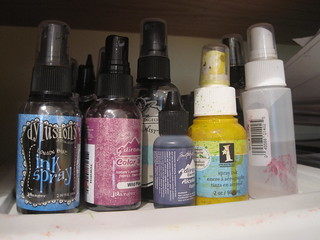I love to use sprays/mists!