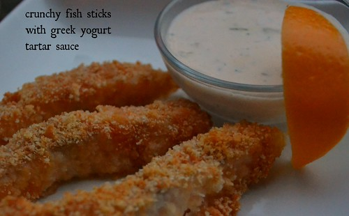 crunchy fish sticks