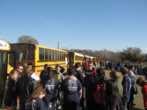 The Project 2013: Volunteers arrive by the busload
