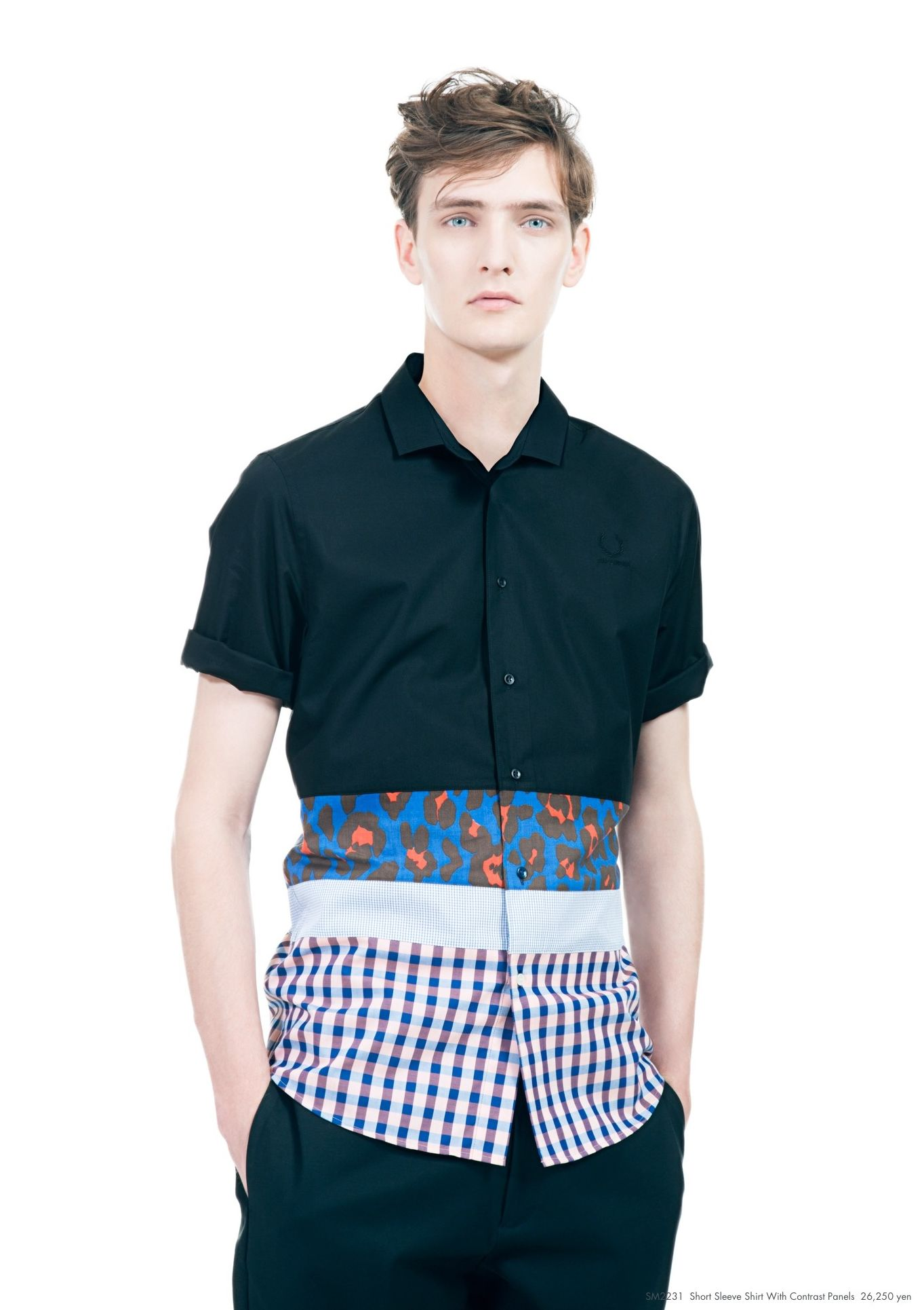 Yannick Abrath0037_Raf Simons × Fred Perry SS13