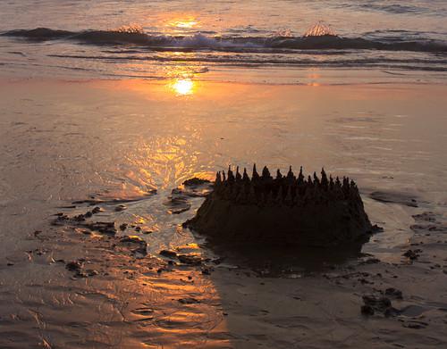 sunset castle beach thailand phuket 日落 海滩 karon 泰国 普吉岛 城堡 布吉 沙滩 卡伦