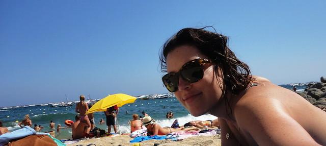 Cumpleaños en Barcelona. Sol - Anniversaire à Barcelone. Soleil - Birthday in Barcelona. Sun - Aniversário em Barcelona. Sol.