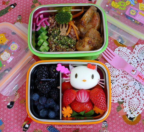 Hinamatsuri Girls Day Bento by sherimiya ♥