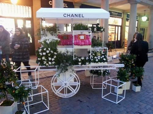 Chanel Flower Stall Covent Garden