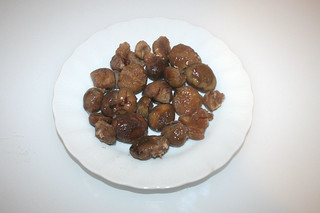 02 - Zutat Maronen / Ingredient chestnuts