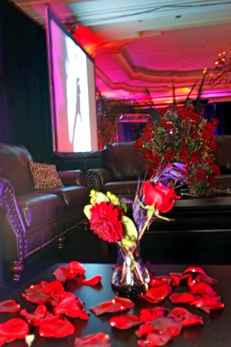 Audio visual rentals in Washington, centerpieces, projector rentals, LED touch screen monitors, leather, white, event furniture by DC Party Rentals 1 202 436 5114