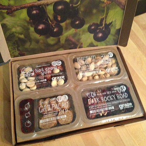 62:365 My first #graze box arrived last week. Lots of yummy goodies!