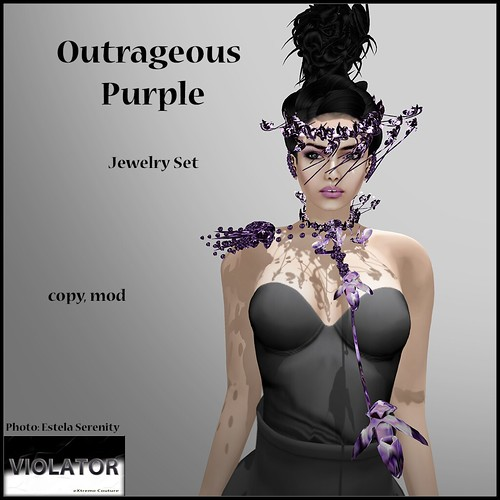 Violator-Outrageous Purple (Available at Relay for Life Event)