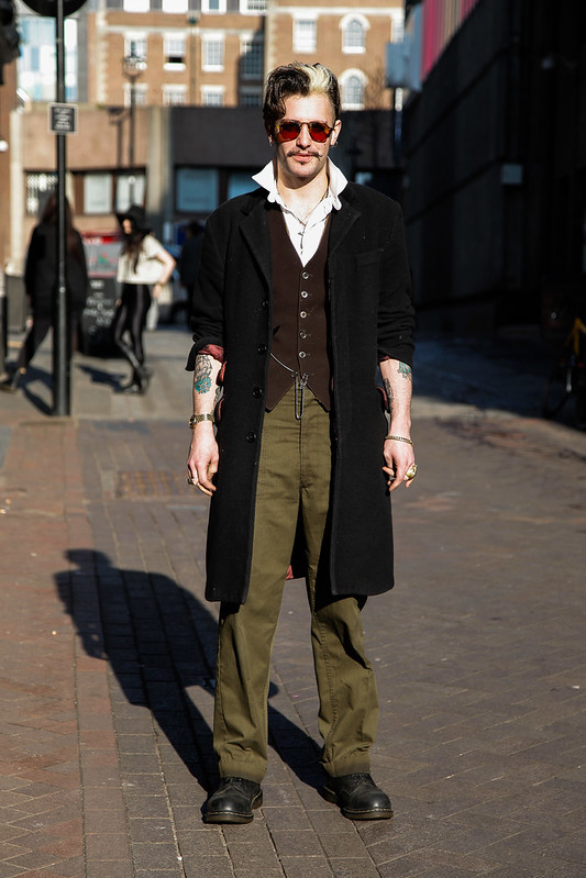 Street Style - Patrick, Carnaby London