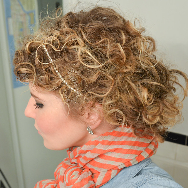 How to Style Curly Hair Take 2  Stars for Streetlights