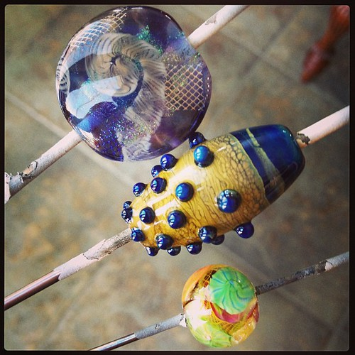 lampwork beads straight from the kiln jen cameron glass addictions
