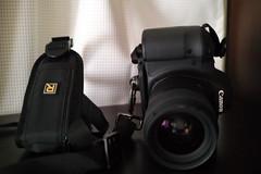 EOS 6D + Blackrapid 縦置き