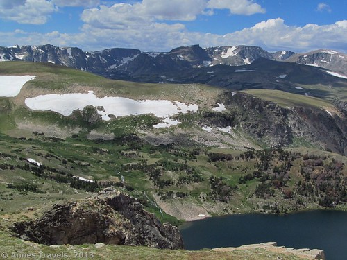 More views from the Twin Lakes pullout, Beartooth Highway, Shoshone National Forest, Wyoming