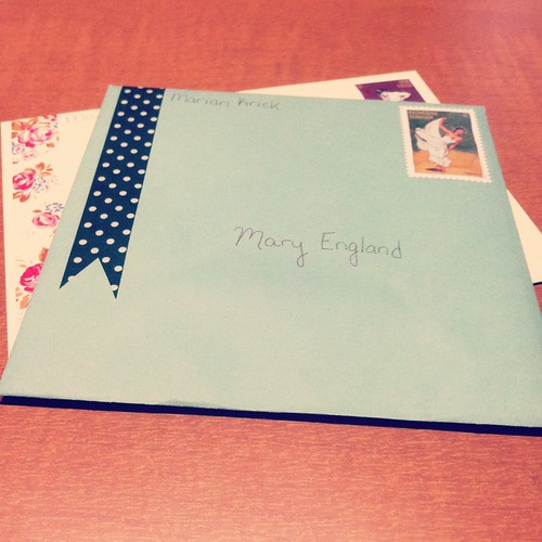 Letters to Mary & Shannah