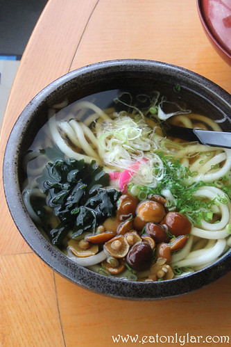 Sansai Nameko Udon, Kura Japanese Restaurant