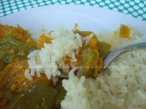 Zuppa Zucca e peperoni