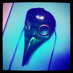 5. Plague Doctor's mask replica #interestingthingsiown