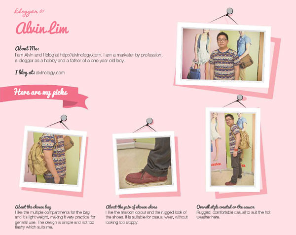 Click on the image to visit the page on Bata Singapore Facebook page