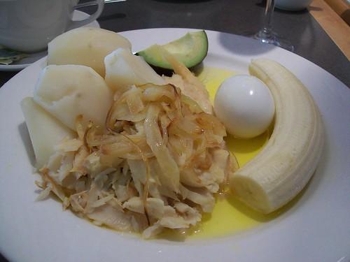 Bermudian breakfast