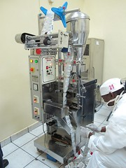 The ORS packaging machine