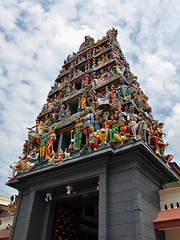 Singapore - Sri Mariamman Temple Entrance