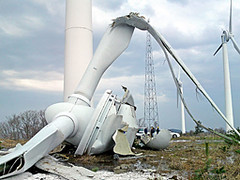Wind Turbine Collapse Kyoto