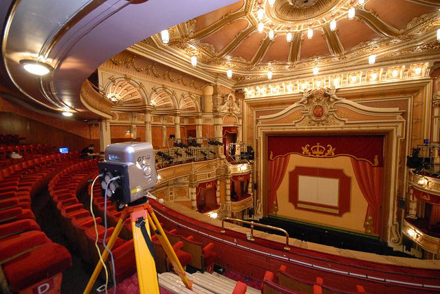 Laser scanning at the Kings Theatre