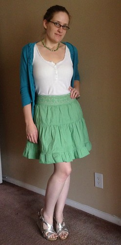 St Paddy's Skirt - After