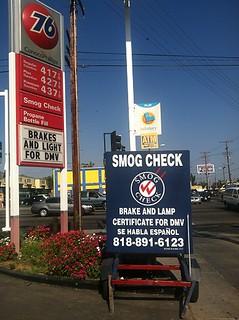 Smog Check - Smog Test