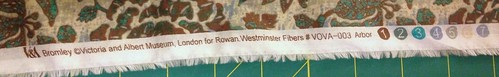 Bromley -- Victoria and Albert Museum -- London for Rowan -- Westminster Fibers